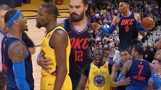 Video Russell Westbrook VS Kevin Durant ROUND 3!! Carmelo Wants SMOKE With Everyone! OKC vs GS! MP3, 3GP, MP4, WEBM, AVI, FLV Maret 2018
