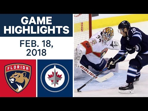 Video: NHL Game Highlights | Panthers vs. Jets - Feb. 18, 2018
