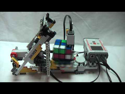 Kreative Maturarbeit: GP3-Youngster Kevin Jörg baute Roboter für Rubik-Würfel