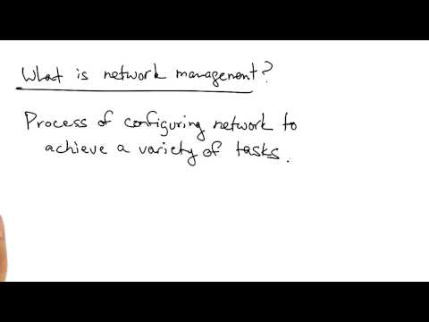 Network Management Overview - Georgia Tech - Software Defined Networking