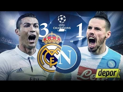 Real Madrid vs Napoli 3 1   All Goals   Extended Highlights   UCL 15 02 2017 HD