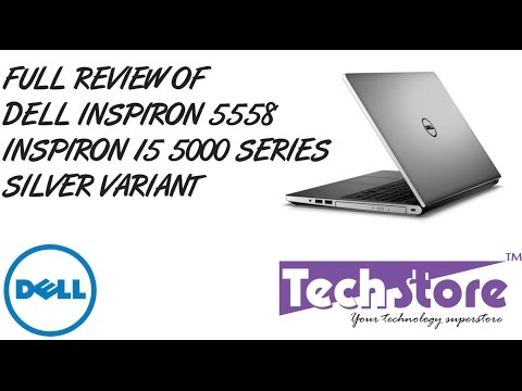 , title : 'Dell Inspiron 15 5558 silver 5000 series full review hands on look and feel webcam speaker'