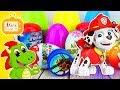 Psi Patrol Marshall I Spiderman Kinder Jajka Niespodzianki Zabawki Filmik Dla Dzieci Po Polsku