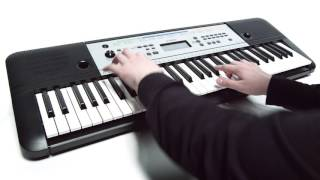 6. Yamaha YPT-255 digital keyboard