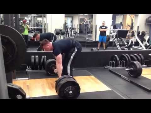 Deadlift 620lbs for 3 reps