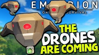 THE DRONES ARE COMING FOR ME in ALPHA 9   Empyrion Galactic Survival (Alpha 9.5 2019 Update) #8