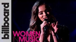 Hailee Steinfeld 'Starving' Live Acoustic Performance | Billboard Women in Music 2016 Video
