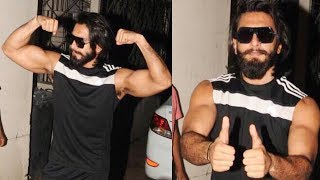 Ranveer Singh SPOTTED In Stylish Avatar In The City