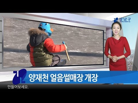 2017년 12월 넷째주 강남구 종합뉴스