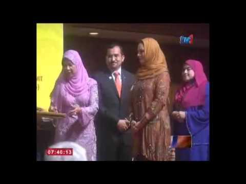 PSSCM Terima Anugerah Dari Raja Permaisuri Agong Sempena Malam Gala (WISE) 2016