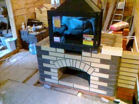 Устройство каминов и деревянных печей
