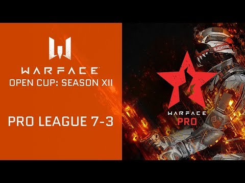 Warface Open Cup: Season XII. Pro League 7-3