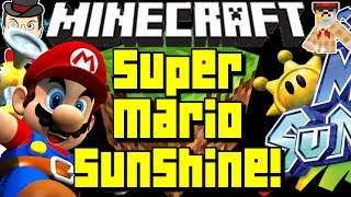 Minecraft SUPER MARIO SUNSHINE Full World! Isle Delfino&More!