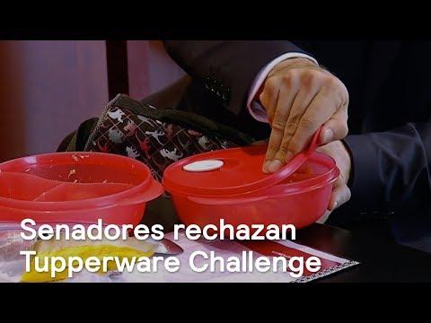 Legisladores reaccionan al Tupperware Challenge