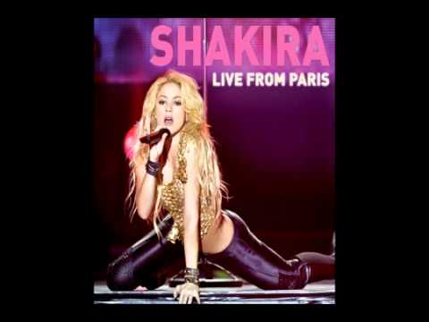 Shakira - Whenever wherever(Live from Paris)