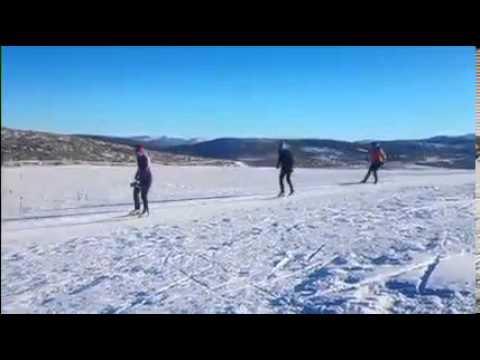 Girls Ski With Holly Brooks (видео)