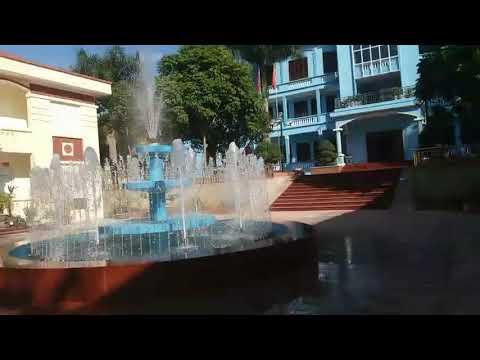 Lắp Đặt Đài Phun Nước Hình Tròn Cho Huyện Ủy Tủa Chùa, Điện Biên | TDV