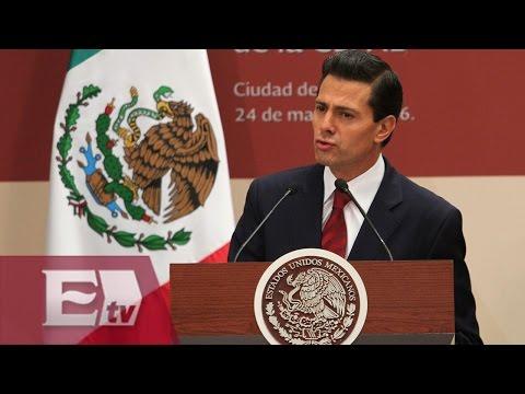 """""""México a favor del desarrollo de AL y el Caribe"""": Peña Nieto"""