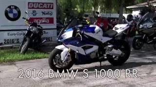 10. Pre-Owned 2016 BMW S 1000 RR Light White/Lupin Blue/Racing Red at Euro Cycles of Tampa Bay