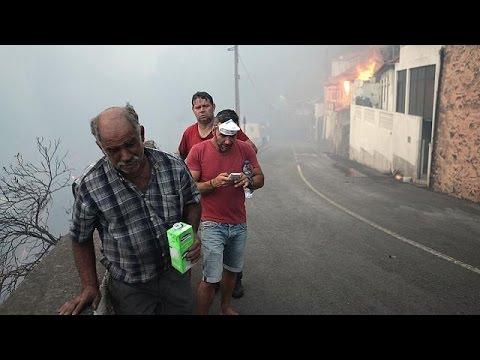 Πορτογαλία: Τρεις νεκροί από τις πυρκαγιές στην Μαδέρα