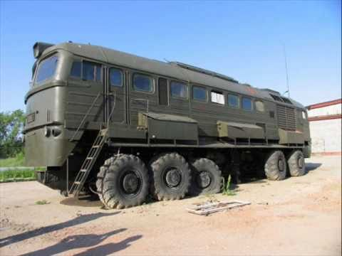 A really awesome 12-wheeled train-like machine