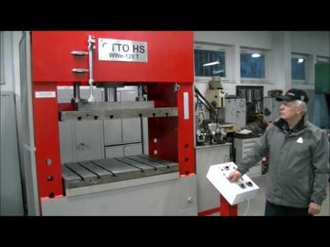 Prasa hydrauliczna bramowa OTTO HS WWe-p 120T 2010