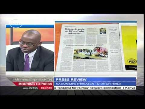 DP Ruto revives ICC case even before Bensouda's final say on his cases