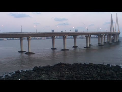 Worli Sea Link From Bandstand