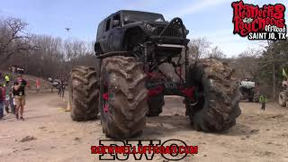 Download Video BIG MUD TRUCKS HIT THE 2 STAGE BOUNTY HOLE!!! MP3 3GP MP4