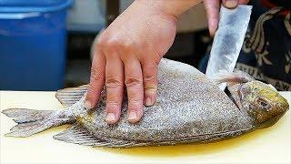Video Japanese Street Food - RABBIT FISH Sashimi Tempura Okinawa Seafood Japan MP3, 3GP, MP4, WEBM, AVI, FLV April 2019