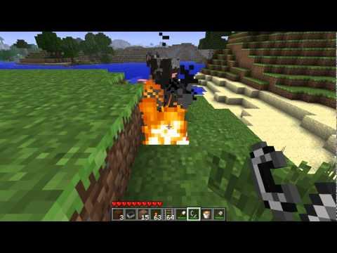 Minecraft - Tutorial: Fire
