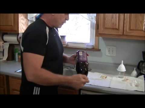 homemade - Homemade wine making .This is how I do it Simple, quick, cheap and easy using a bottle of grape juice. . This video is not for people who are under the legal...