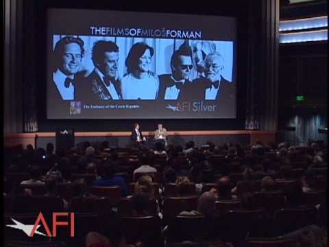 Miloš Forman - Milos Forman talks with an audience about filming on location in a mental institution after a screening of his acclaimed film ONE FLEW OVER THE CUCKOO'S NEST...