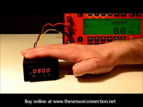 How to Change the Alarm Setpoint on the PMD Series Digital Pyrometer