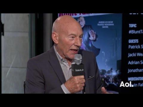 """Patrick Stewart Talks Sex Scenes in """"Blunt Talk"""""""