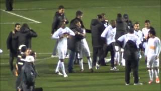 O Santos venceu a Universidad de Chile por 2 x 0, e foi campeão da Recopa. Gols de Neymar e Bruno Rodrigo.