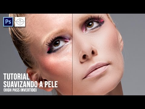 Tutorial - Tratamento De Pele Profissional (High Pass Invertido) Photoshop CS6 🔥