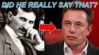 Video Elon Musk on Nikola Tesla – What He Said May Shock You MP3, 3GP, MP4, WEBM, AVI, FLV September 2018