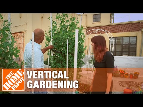 Gardeniere Pamela Discusses Vertical Gardening – The Home Depot