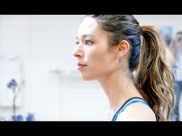 【美ボディ】人気モデル 栗原ジャスティーン Womans'SHAPE&Sports表紙を飾る ウーマンズ・シェイプ&スポーツ トレーニング ゴールドジム