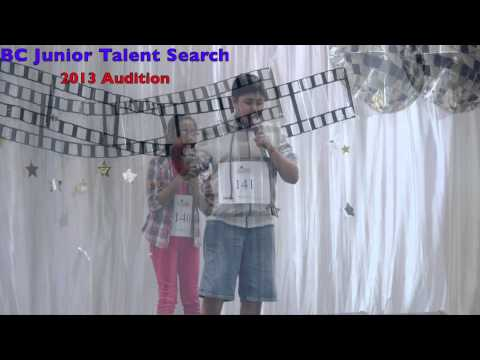 BC Junior Talent Search 2013 Audition