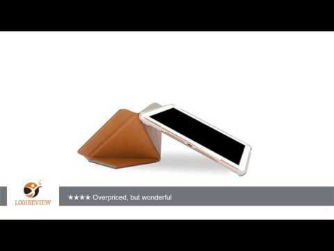 Moshi VersaCover – iPad Air 2 Stand Case with Origami Cover - Almond Tan   Review/Test
