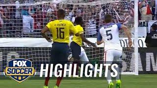 Dempsey's header gives USMNT 1-0 lead vs. Ecuador | 2016 Copa America Highlights by FOX Soccer