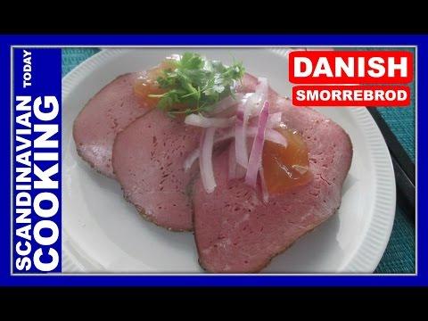 Smørrebrød – Dyrlægens Natmad – Veterinarian's Midnight Snack – An Open Sandwich