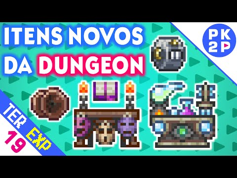 Alchemy & Bewitching Table, Valor e Tally Counter!  • Terraria 1.3 Expert #19