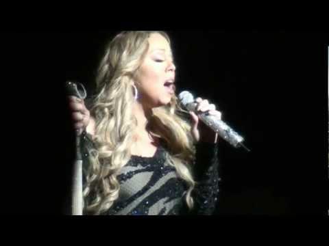 Mariah Carey Live in Australia 2013 - Triumphant Tour - Can't Let Go / Love Takes Time HD
