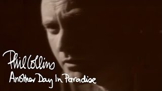 Video Phil Collins - Another Day In Paradise (Official Music Video) MP3, 3GP, MP4, WEBM, AVI, FLV Juli 2019