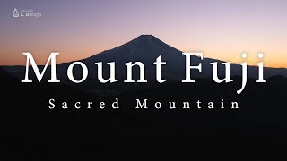 Aerial view of Mount Fuji - Sacred Mountain [4K] / 絶景 富士山