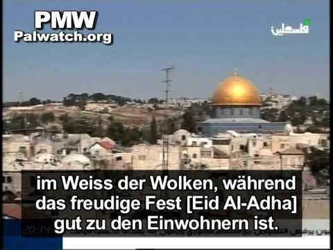 Rain cleanses Jerusalem of Jews' impurity so Muslims can pray