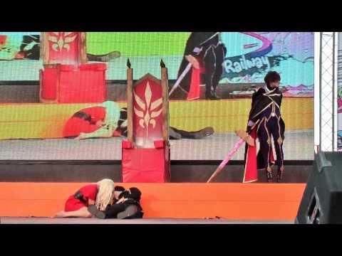 Cosplay Contest in Japan Festa in Bangkok 2010 Team 1:Code Geass
